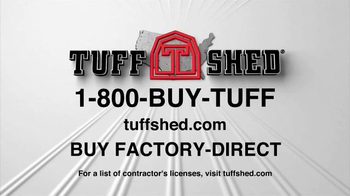 Tuff Shed Year End Clearance Sale TV Spot, 'Moves by Tuff Shed' - Thumbnail 9