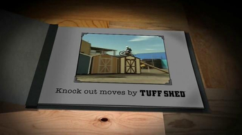 Tuff Shed Year End Clearance Sale TV Spot, 'Moves by Tuff Shed' - Thumbnail 2