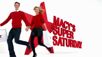 Macy's Super Saturday Sale TV Spot, 'Save Storewide!' - Thumbnail 2