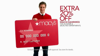 Macy's Super Saturday Sale TV Spot, 'Save Storewide!' - Thumbnail 6