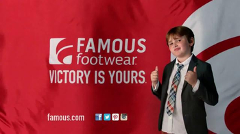 Famous Footwear TV Spot, 'Under the Mistletoe with Confidence' - Thumbnail 10