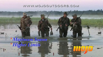 Mojo Outdoors TV Spot, 'Duck Decoys'