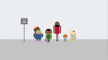 Android TV Spot, 'Bus Stop'
