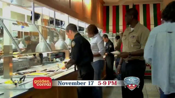 Golden Corral TV Spot, 'Military Appreciation Monday' - Thumbnail 8