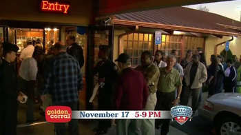 Golden Corral TV Spot, 'Military Appreciation Monday' - Thumbnail 9