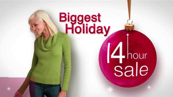 Stein Mart 14 Hour Sale TV Spot, 'Biggest Holiday' - Thumbnail 2