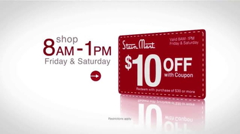Stein Mart 14 Hour Sale TV Spot, 'Biggest Holiday' - Thumbnail 8