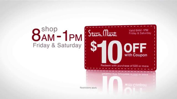 Stein Mart 14 Hour Sale TV Spot, 'Biggest Holiday' - Thumbnail 9