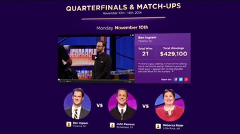 Jeopardy.com TV Spot, 'Tournament of Champions' - Thumbnail 6