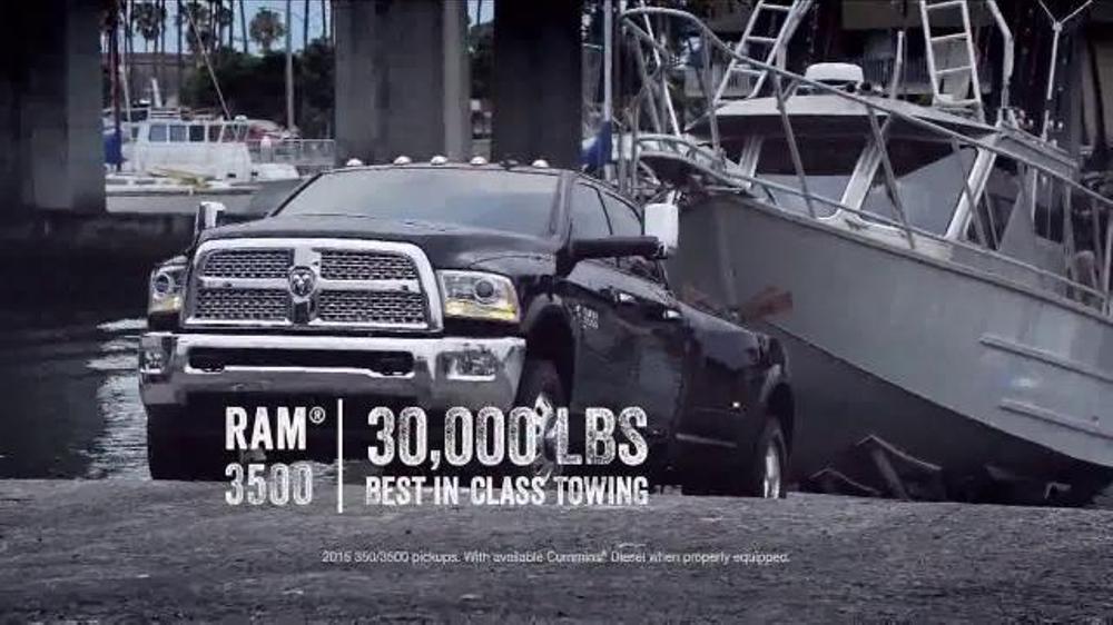 Ram Trucks 2014 Big Finish TV Commercial, '2014 Ram 1500 Big Horn Crew Cab'
