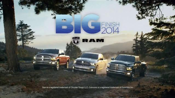 Ram Trucks 2014 Big Finish TV Spot, '2014 Ram 1500 Big Horn Crew Cab' - Thumbnail 8