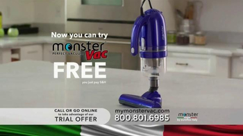 Euroflex Appliances Monster Vac TV Spot - Thumbnail 9