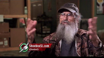 Samaritan's Purse TV Spot, 'Operation Christmas Child' Feat. Si Robertson - 12 commercial airings