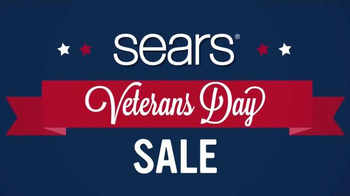 Sears Veterans Day Sale TV Spot, 'Lowest Prices of the Season' - Thumbnail 1