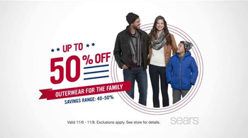 Sears Veterans Day Sale TV Spot, 'Lowest Prices of the Season' - Thumbnail 2