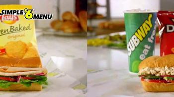 Subway Simple $6 Menu TV Spot, 'Nuestros Mejores Subs' [Spanish] - Thumbnail 2