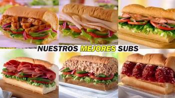 Subway Simple $6 Menu TV Spot, 'Nuestros Mejores Subs' [Spanish] - Thumbnail 6