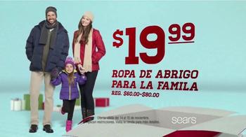 Venta y Ofertas Sears Súper Sábado TV Spot, 'Ropa de Abrigo' [Spanish] - Thumbnail 4