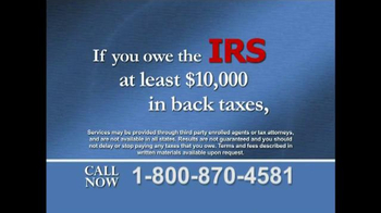 The Tax Resolvers TV Spot, 'Important Message' - Thumbnail 3