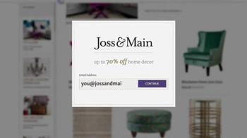 Joss and Main TV Spot, 'Young Designer' - Thumbnail 9