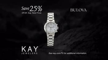 Kay Jewelers Diamonds in Rhythm TV Spot, 'Penguin Kiss: Christmas: Save 25 Percent on Bulova Watches' - Thumbnail 8