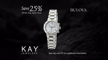 Kay Jewelers Diamonds in Rhythm TV Spot, 'Penguin Kiss: Christmas: Save 25 Percent on Bulova Watches' - Thumbnail 9