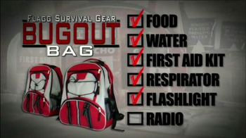 Flagg Survival Gear Bug Out Bag TV Spot, 'Prepare for the Worst' - Thumbnail 6