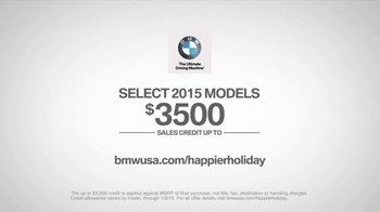 BMW Happier Holiday Event TV Spot, 'Road Home' - Thumbnail 9