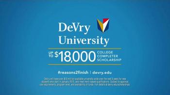 DeVry University TV Spot, 'Finish Your Degree' - Thumbnail 10