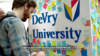 DeVry University TV Spot, \'Finish Your Degree\'