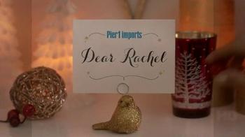 Pier 1 Imports TV Spot, 'Sparkling Holiday Hearth' - Thumbnail 1