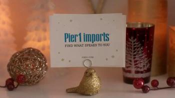Pier 1 Imports TV Spot, 'Sparkling Holiday Hearth' - Thumbnail 10