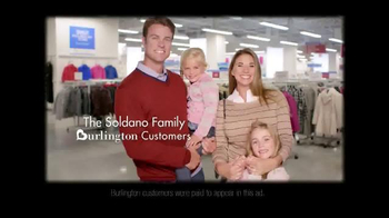 Burlington Coat Factory TV Spot, 'The Soldano Family' - Thumbnail 2