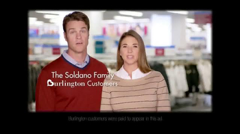 Burlington Coat Factory TV Spot, 'The Soldano Family' - Thumbnail 3