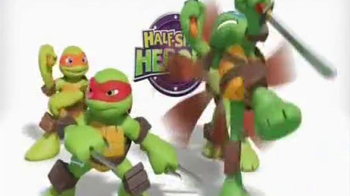 Teenage Mutant Ninja Turtles Super Sewer Headquarters TV Spot - Thumbnail 1