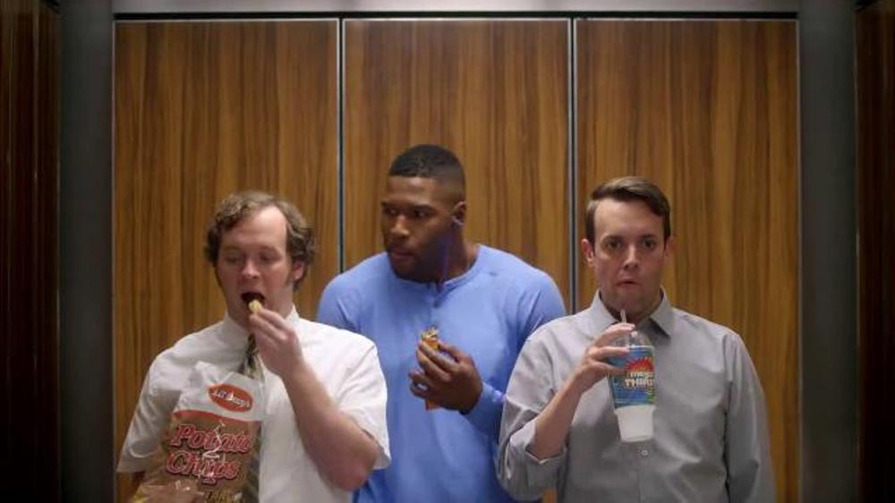 Metamucil Health Bar TV Commercial, 'Elevator' Featuring Michael Strahan