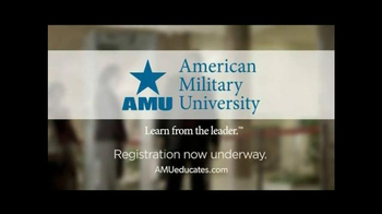 American Military University TV Spot, 'Learn From the Leader' - Thumbnail 10