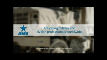 American Military University TV Spot, 'Learn From the Leader' - Thumbnail 4