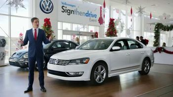 Volkswagen Sign Then Drive Event TV Spot, 'The Holiday Season is Here' - 405 commercial airings
