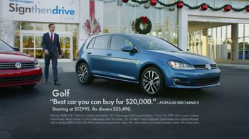 Volkswagen Sign Then Drive Event TV Spot, 'The Holiday Season is Here' - Thumbnail 6