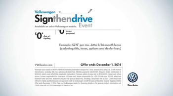Volkswagen Sign Then Drive Event TV Spot, 'The Holiday Season is Here' - Thumbnail 9