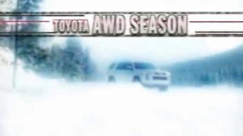 Toyota TV Spot, 'AWD Season' - Thumbnail 1