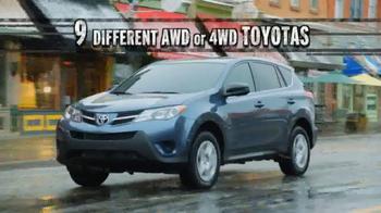 Toyota TV Spot, 'AWD Season' - Thumbnail 3