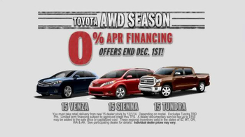 Toyota TV Spot, 'AWD Season' - Thumbnail 8