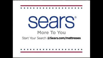 Sears Veterans Day Mattress Spectacular TV Spot, 'Find Your Sleep Solution' - Thumbnail 5