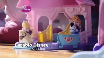 Fisher Price Disney Princess Klip Klop Stable TV Spot [Spanish] - Thumbnail 5