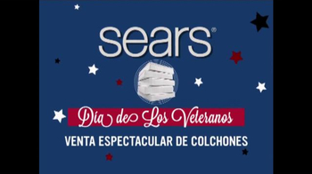 Sears Venta del Día de los Veteranos TV Spot, 'Colchones' [Spanish] - Thumbnail 1