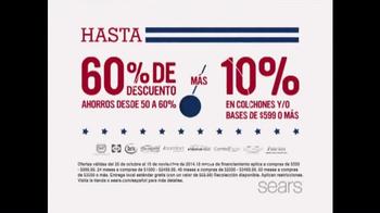Sears Venta del Día de los Veteranos TV Spot, 'Colchones' [Spanish] - Thumbnail 2