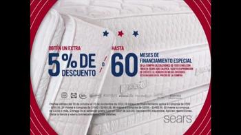 Sears Venta del Día de los Veteranos TV Spot, 'Colchones' [Spanish] - Thumbnail 3