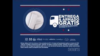 Sears Venta del Día de los Veteranos TV Spot, 'Colchones' [Spanish] - Thumbnail 4